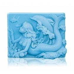 """RELIÉFNÍ glycerinové mýdlo """"mořská panna"""""""