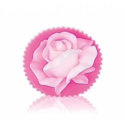 """RELIÉFNÍ glycerinové mýdlo """"květ růže"""""""